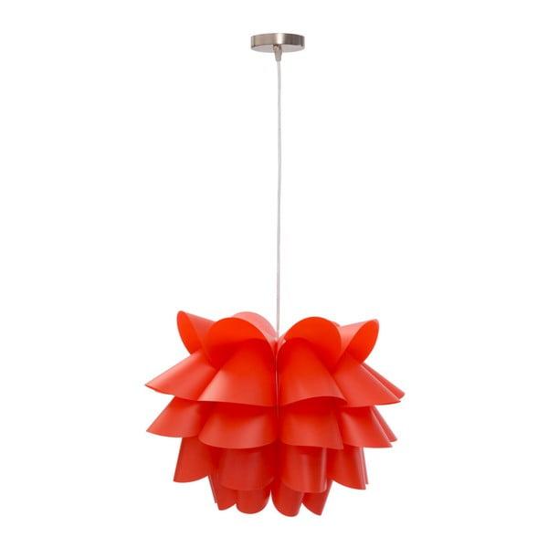 Červené závěsné svítidlo Mauro Ferretti Push
