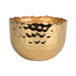 Svícen ve zlaté barvě Sass & Belle Hammered Brass