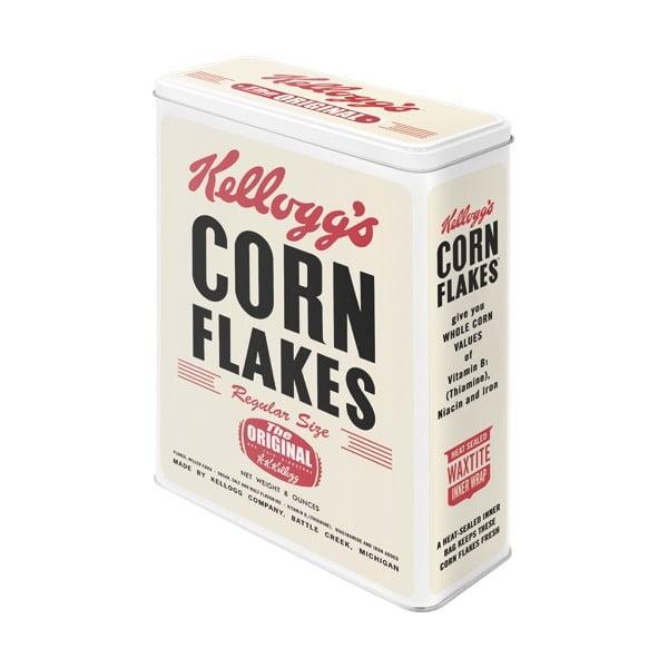 Plechová dóza Cornflakes, velikost XL