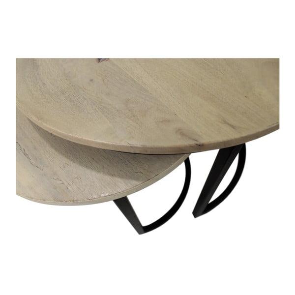 Sada 2 konferenčních stolků HSM collection Ronin, 70 x 46 cm