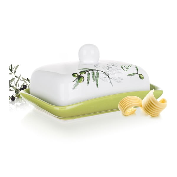 Keramická máslenka Banquet Olives