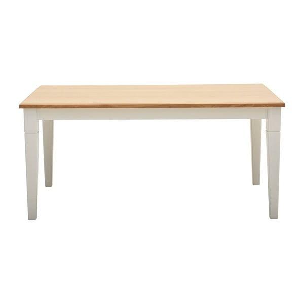 Jedálenský stôl z dubovej dyhy Artemob Cristian, dĺžka 200 cm