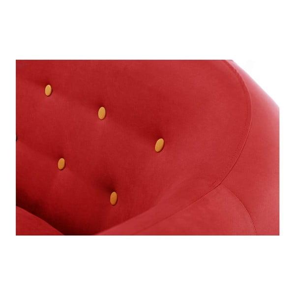 Pohovka Constellation Red s lenoškou na pravé straně