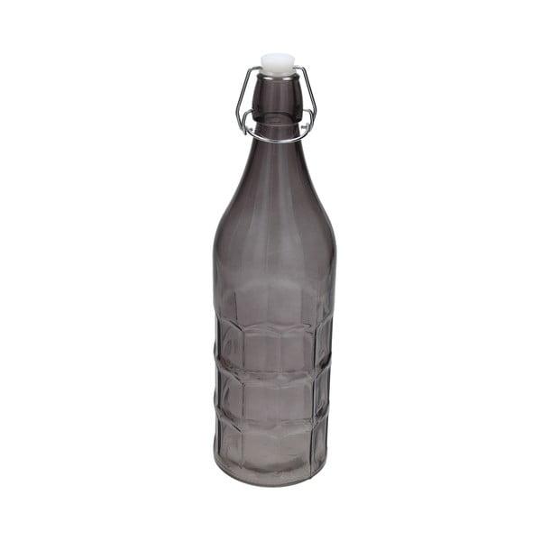 Skleněná lahev Tag Galben 1l, kouřová