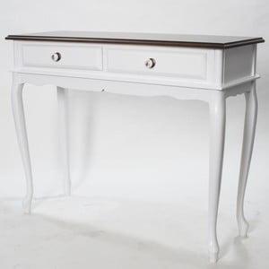 Konzolový stolek Carina Walnut, 100x38x81 cm