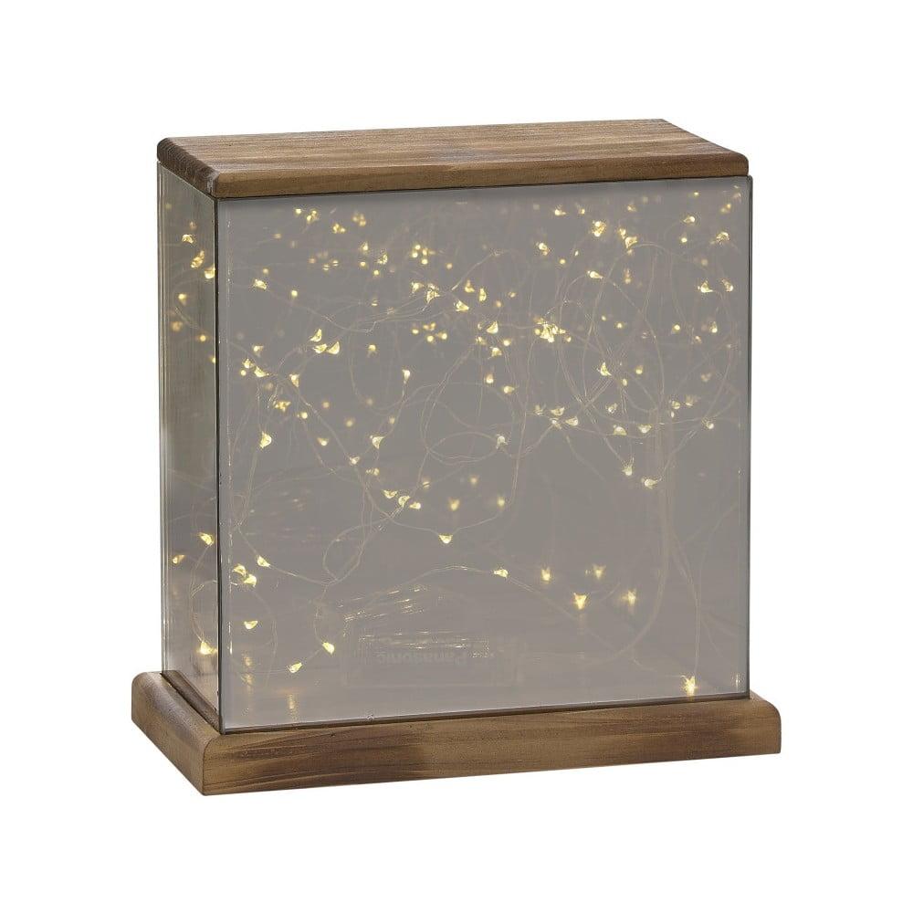 Lucerna s LED světýlky Villa Collection Lantern, 23 cm