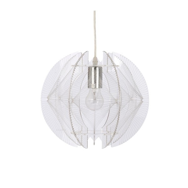 Závěsná lampa Wire, bílá