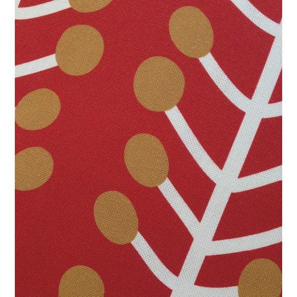 Polštář s výplní Herbs Red, 45x45 cm