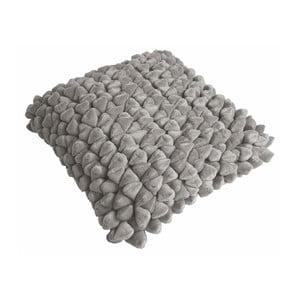 Béžovošedý polštář ZicZac Pebble, 45x45cm
