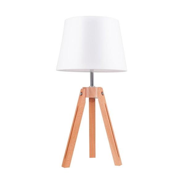 Stolní lampa Tripod Britop, bílá