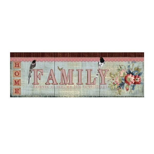 Obraz Family, 90x30 cm
