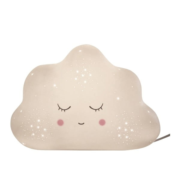 Bílá stolní lampa Opjet Paris Cloud