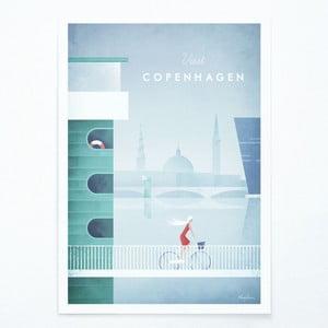 Plakát Travelposter Copenhagen, A3