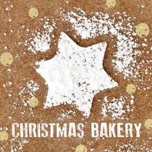 Balení 10 papírových ubrousků s vánočním motivem PPD Sweet Christmas Bakery