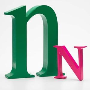 "Malé ""n"" 17x14 cm, zelená"