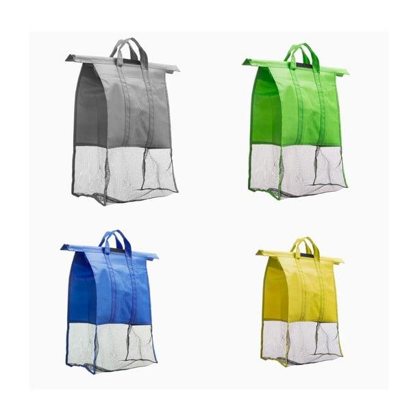 Set 4 sacoșe pentru coș cumpărături InnovaGoods Cart Car