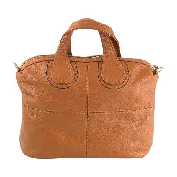 Kožená kabelka Andrea Cardone 900 Brown