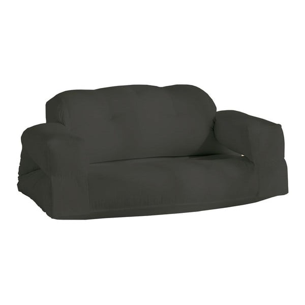 Canapea extensibilă potrivită pentru exterior Karup Hippo, gri închis