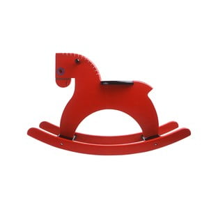 Houpací kůň Rocking Horse Red