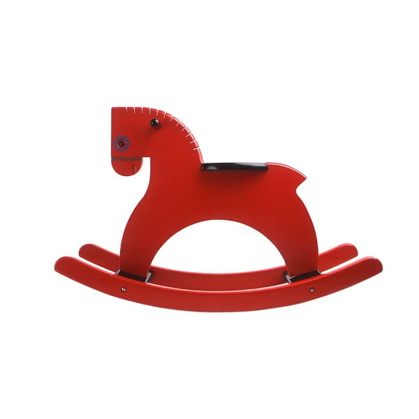 Houpací kůň Rocking Horse Red