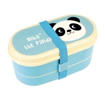 Recipient pentru prânz Rex London Miko The Panda, albastru imagine