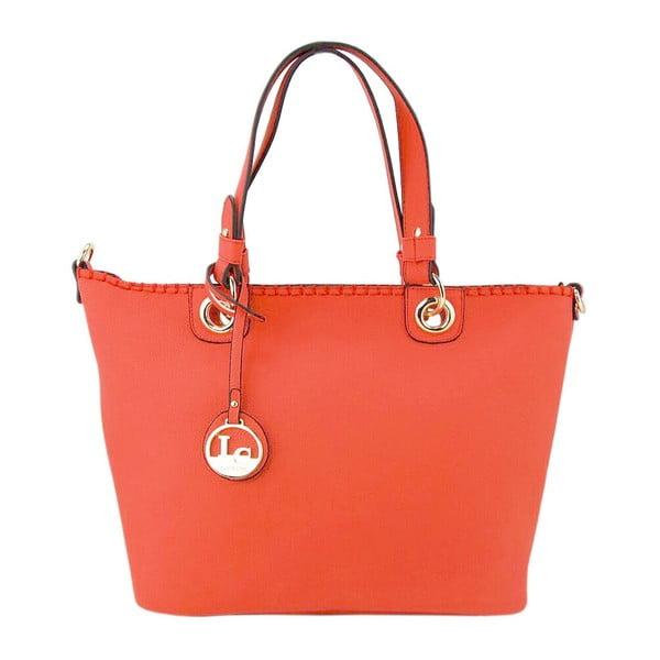 Kožená kabelka Ginny Red Coral