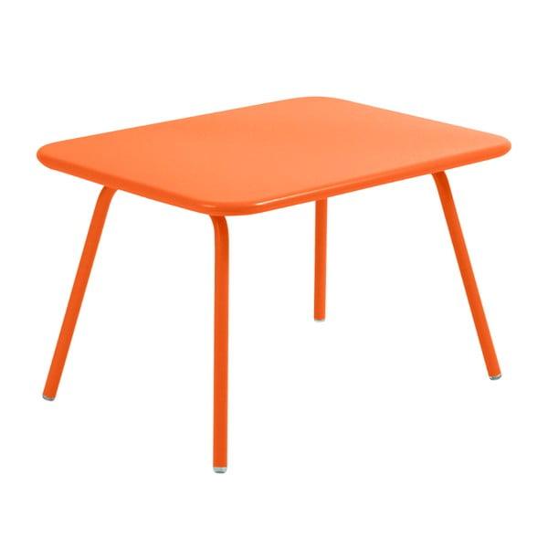 Oranžový dětský stůl Fermob Luxembourg