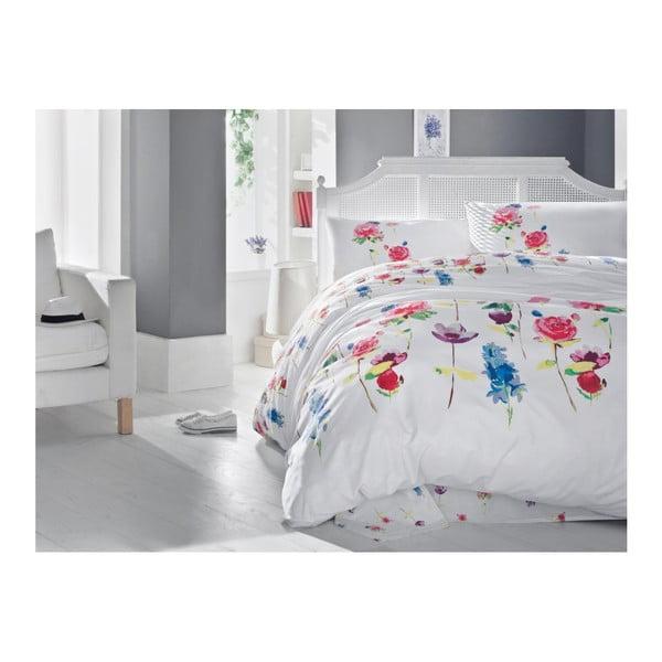 Lenjerie din bumbac pentru pat de o persoană Luminio Pinto, 140 x 200 cm