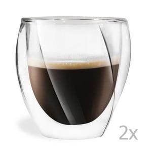 Sada 2 dvojitých sklenic Vialli Design Lora, 250ml