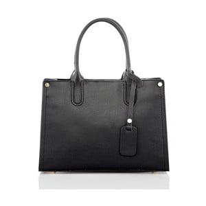 Černá kožená kabelka Glorious Black Liana
