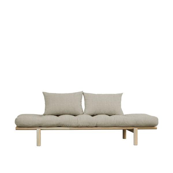 Canapea Karup Design Pace Natural, gri - bej