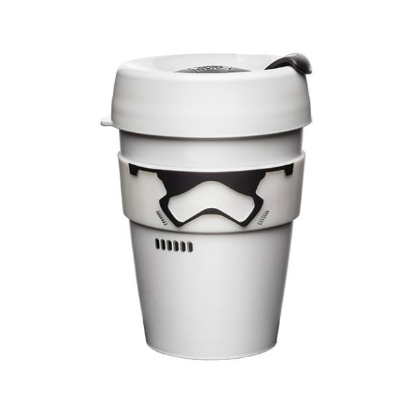 Star Wars Stormtrooper Brew utazóbögre fedéllel, 340 ml - KeepCup