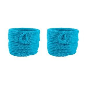 Sada 2 košíků Turquoise, 13 cm