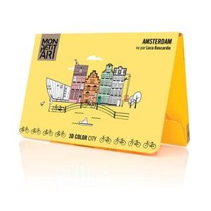 Panoramatická skládačka Mon Petit Art Amsterdam