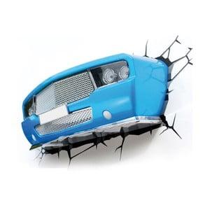 Veioză pentru perete cu autocolant Tnet  Blue Muscle Car