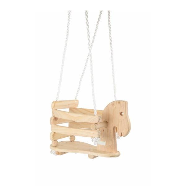 Drewniana huśtawka Legler Horse