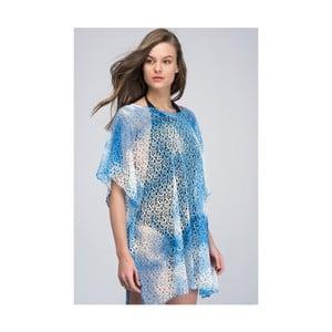 Světle modrá dámská letní tunika z čisté bavlny NW
