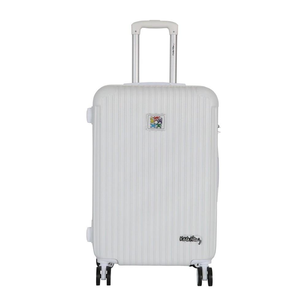 Bílých cestovní kufr LULU CASTAGNETTE Darwin, 71l