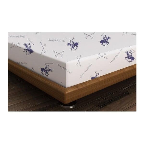 Polo Purple pamut lepedő, 240 x 260 cm