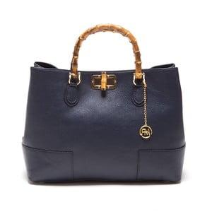Kožená kabelka Teofila, modrá