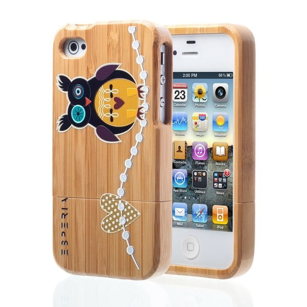 ESPERIA Big Owl Bamboo pro iPhone 4/4S