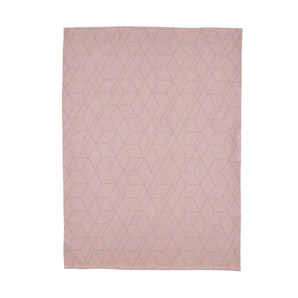 Kuchyňská utěrka Zone, 50x70cm, starorůžová