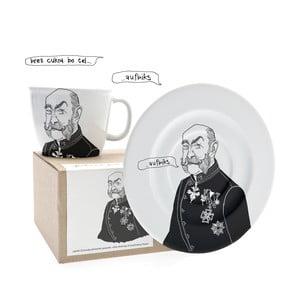 Hrnek a talířek Franzl, ten benevolentní
