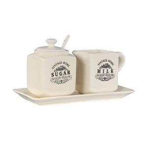 Keramický set cukřenky a konvičky na mléko Premier Housewares Vintage Home
