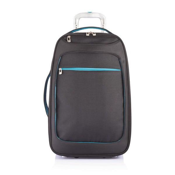 Příruční zavazadlo Milano Blue/Black