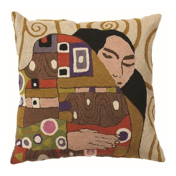 Povlak na polštář Klimt The Embrace, 45x45 cm