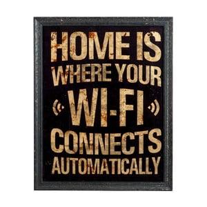 Cedule na stěnu Wifi