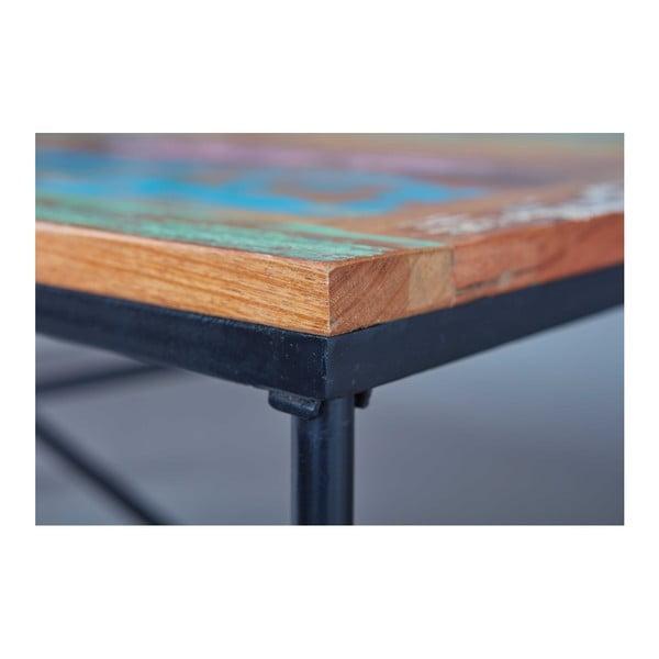Jídelní stůl z recyklovaného mangového dřeva Interlink Coffee