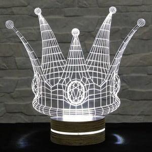 3D stolní lampa Crown