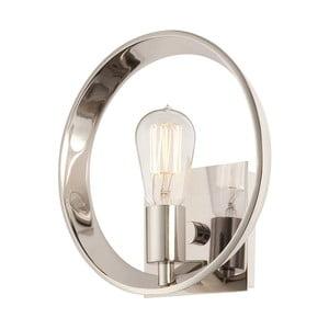 Nástěnné svítidlo ve stříbrné barvě Elstead Lighting Uptown Theater Rown Uno